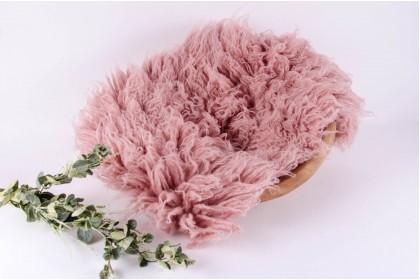 Flokati Premium Mini - Rosa Antigo
