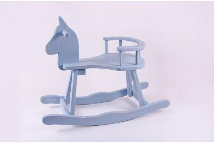 Cavalinho De Madeira - Azul